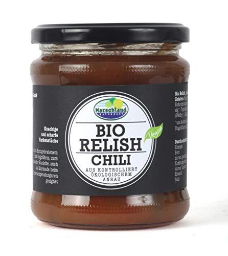 Marschland Bio-Relish, chili, 6 stück