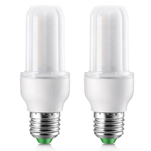 Elrigs LED Lampe Stabform dimmbar 7W ersetzt 60W, E27, Kaltweiß (6000 Kelvin), Doppelpack