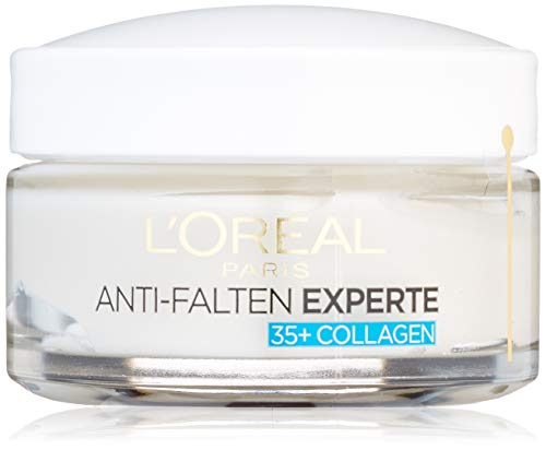 L'Oréal Paris Anti-Falten Experte Feuchtigkeitspflege, für 35+, mildert Fältchen und gibt Spannkraft für eine samtweiche Haut, 50 ml