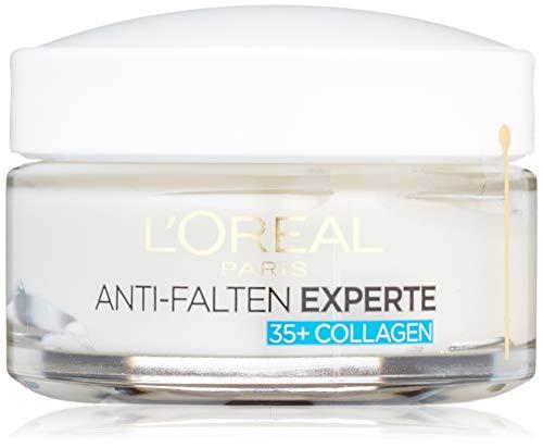 L'Oréal Paris Anti-Falten Experte Tagescreme 35+, Anti-Age Feuchtigkeitspflege mit Collagen,...