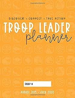 Troop Leader Planner: 2019-2020 Organizer For Ambassador Scouts & Multi-Level Troops