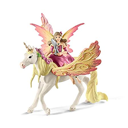 Schleich-Figur Feya mit Pegasus-Einhorn