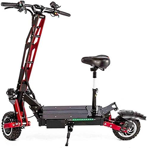 XINHUI Scooter eléctrico Robusto 5600W 60V 45AH Máximo 150km Roding 200kg 85 km/h Potente Hover Tablero eléctrico Off-Road Skateboard Adulto Scooter