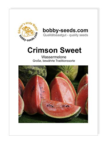 Bobby-Seeds Melonen Samen Crimson Sweet - Wassermelone Portion