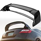 HECASA Rear Trunk Spoiler Wing Compatible with 2006-2011 Honda Civic 4 Door Sedan Glossy Black