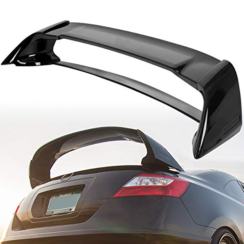 HECASA Rear Trunk Lid Wing Spoiler Compatible with 2018-2020 Honda Accord 4 Door Sedan ABS Plastic Matte Black