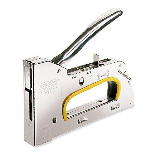 Rapid 20510650 Grapadora Manual, Acero Inoxidable, Nr. 13 Feindrahtklammern...