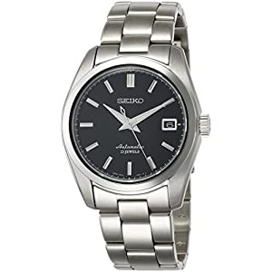 Fashion Shopping Seiko Men's Japanese-Automatic Watch with Stainless-Steel Strap, Silver, 20 (Model: SARB033)