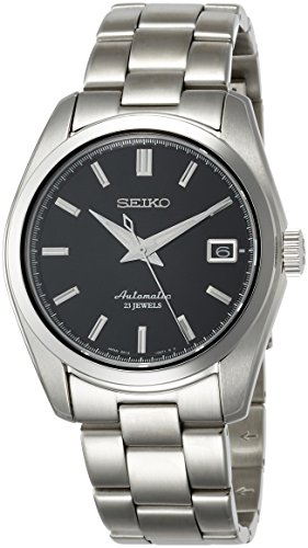 Fashion Shopping Seiko Men's Japanese-Automatic Watch with Stainless-Steel Strap, Silver, 20