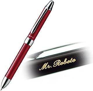 【名入れ】ペンテル ビクーニャEX 2+S 赤・黒ボールペン + シャープペン (レッド)
