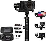 <span class='highlight'>FeiyuTech</span> G6 Plus Gimbal Stabilizer All in 1 Multi Use For Smart Phones/Action Cameras/DSLR/DSLM Cameras, 3-<span class='highlight'>Axis</span> <span class='highlight'>Handheld</span> stabilisers for SONY/Canon/GoPro/iPhone/Samsung/Huawei iOS/Android