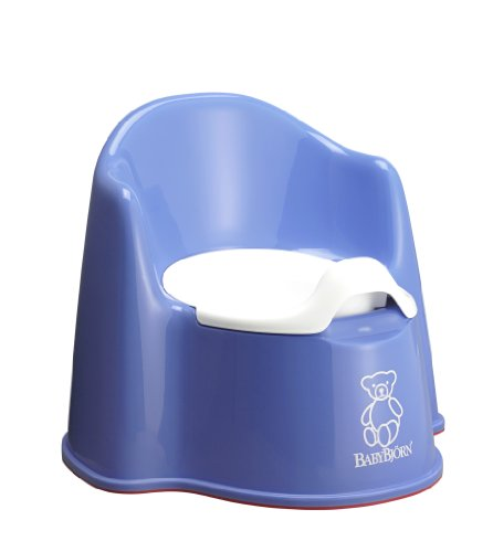 BABYBJORN Potty Chair, Blue