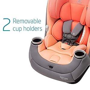 Maxi-Cosi Pria 3-in-1 Convertible Car Seat, Peach Amber