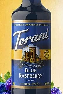 Torani Sugar Free Blue Raspberry Syrup