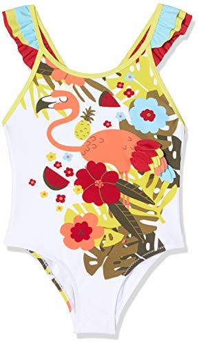 Tuc Tuc Maillot DE Bain Fleurs Fille Rouge Tropical Jungle
