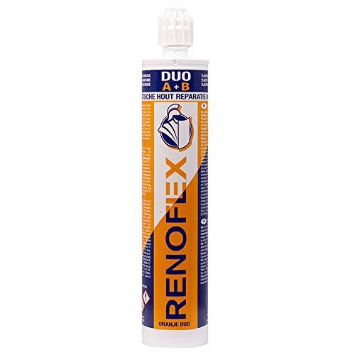 Renovaid 1030 RENOFLEX Duo Epoxy-Holzersatzmasse, Orange/Weiss, 265ml