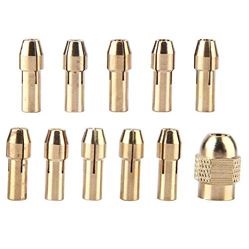 Copper Chuck Clamp 0.5-3.2mm Clamping Force for Mini Drill