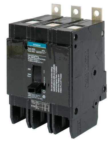 Siemens - BQD315 - Bolt On Circuit Breaker, 15 Amps, Number of Poles: 3, 277/480VAC AC Voltage Rating