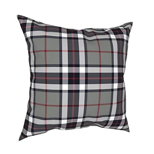 DearLord Thomson Thompson - Fundas de cojín cuadradas de doble cara para sofá dormitorio con cremallera invisible 45,7 x 45,7 cm
