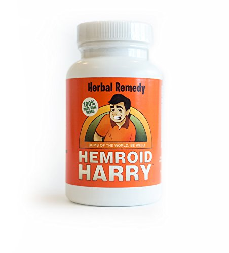 Hemroid Harry's Herbal Remedy, 45 Day (360 Count) - Natural Hemorrhoid Treatment, Itch Pain Relief, Pills,...