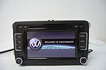 VW RCD510 Radio SAT AM FM 6CD SD CARD SIRIUS BLUETOOTH WITH CODE SCREEN