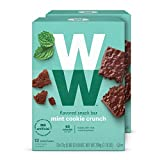WW Mint Cookie Crunch Mini Bar - Snack Bar, 2 SmartPoints - 2 Boxes (24 Count Total) - Weight...