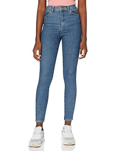 Dr. Denim Damen Moxy Jeans, Stoker Blau, XL