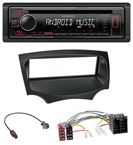 caraudio24 Kenwood KDC-120UR MP3 CD 1DIN AUX USB Autoradio für Ford Ka (RU8, ab 2008)