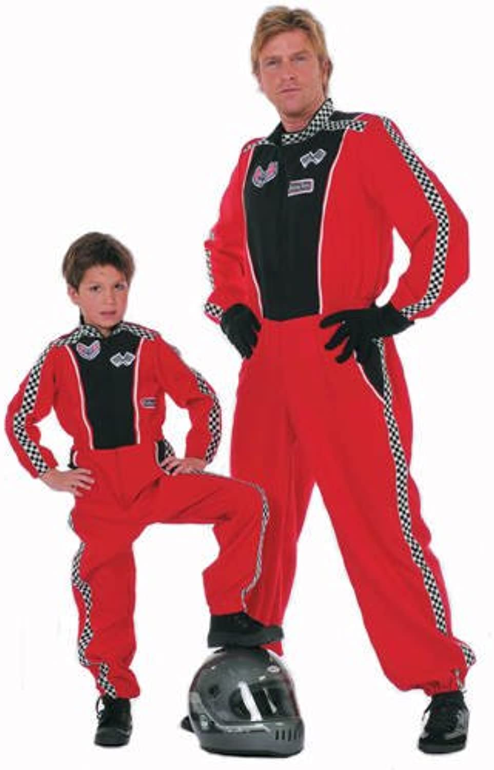 Racing Driver Mens Costume, size XL