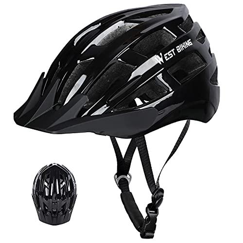 ICOCOPRO Casco de bicicleta para adultos, con certificación CE, para hombre y...