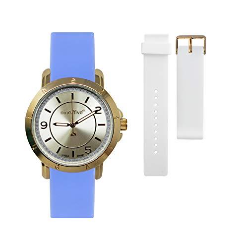 Nine2Five AS19G14AZRG Reloj Dama, Blue
