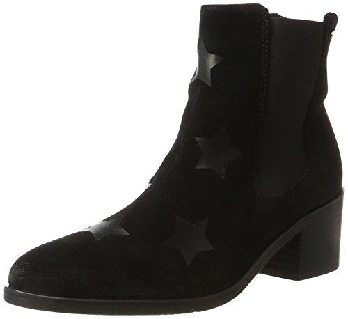 Tommy Hilfiger Damen Z1285OE 1B Chelsea Boots, Schwarz (Black), 39 EU