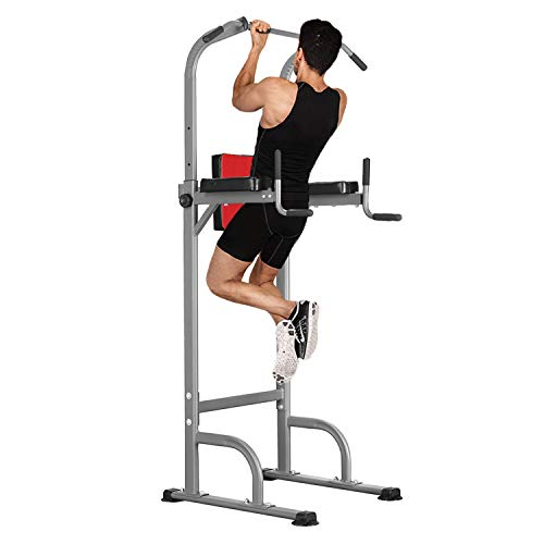 M HI-Mat Multifunctional Height Adjustable Power Tower, Home Gym Pull...