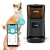 6L Automatic Pet Feeder for Cats and Dog, 2.4G Wi-Fi Enabled APP