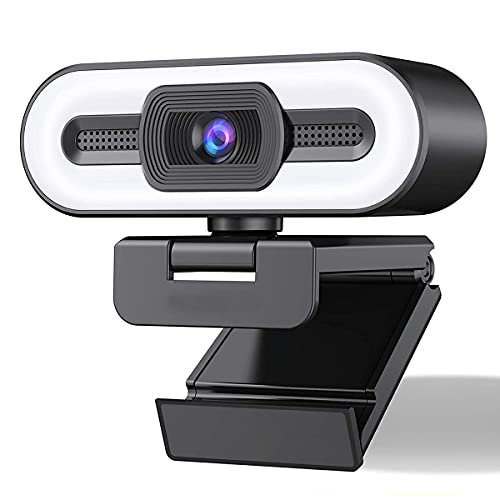 Cámara de ordenador de transmisión de Webcam HD 1080P, 3 colores de color de color para PC, AutoFOCUS, enchufe y reproducción, Web Camerawebcam para PC / computadora / computadora portátil, webcam USB