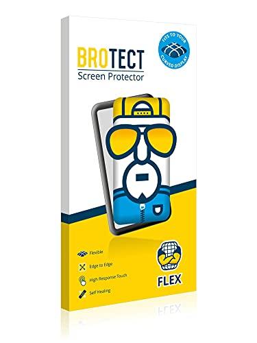 BROTECT Full-Cover Schutzfolie kompatibel mit ZTE Axon 30 Ultra 5G (Vorder + Rückseite) (2 Stück) - Full-Screen Bildschirmschutz-Folie, Kristall-Klar