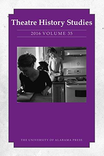 Theatre History Studies 2016, Vol. 35 (English Edition)