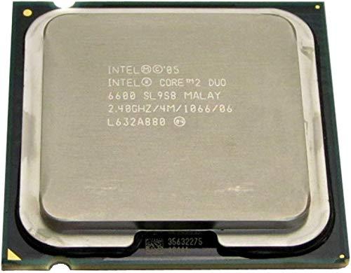 Intel Procesador de CPU Core 2 Duo E6600 2.4GHz 4MB LGA775 SL9S8 SL9ZL