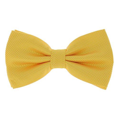 SHIPITNOW Noeud Papillon Homme Jaune Orange - 20 coloris - Noeud Papillon classe pour Mariage, Soirée