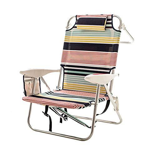 Chair Recliner Folding Lazy Sleeping Leisure Multifunctional Beach Household...