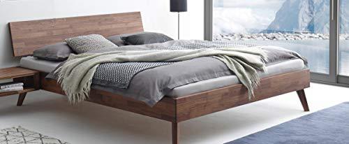 Hasena Fine Line Bett Ancona Nussbaum geölt 140x200 cm