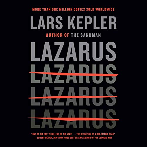 Lazarus Audiobook By Lars Kepler, Neil Smith - translator cover art