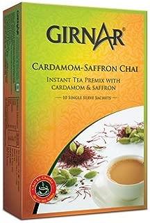 GIRNAR CARDAMOM SAFFRON CHAI ( TEA ) 10 SACHETS