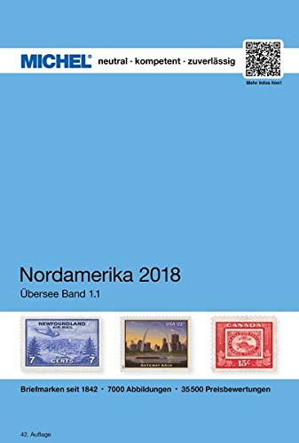 Nordamerika 2018 (ÜK 1.1) (MICHEL-Übersee / ÜK)