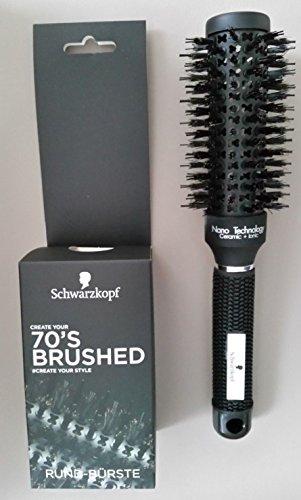 Schwarzkopf Rund Bürste - Haarbürste ca. 25,5cm Hair Brush