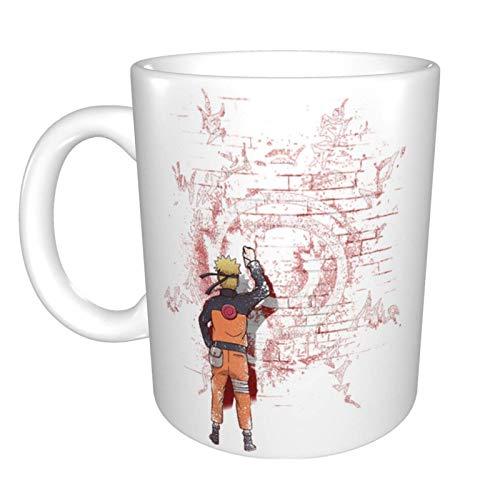 Anime Naru-to iti - Taza de café de cerámica, diseño único y novedoso, ideal para regalo de cumpleaños