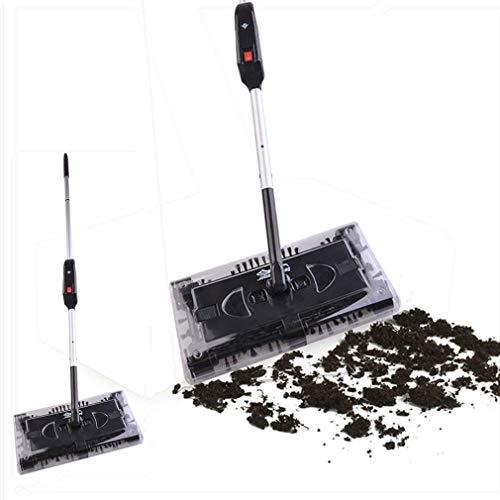 Akkusauger Staubsauger Besen Reinigung Elektrischer Swivel Sweeper Akkubesen kabellos Ellenbogengelenk Aufladbar - 2