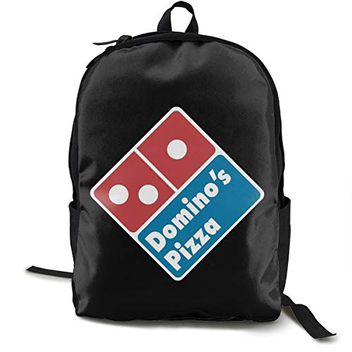N / A Domino'S Pizza Paket Klassischer Rucksack Schultasche Schwarze Tasche Arbeitsreise Zur Polyester Unisex Schule