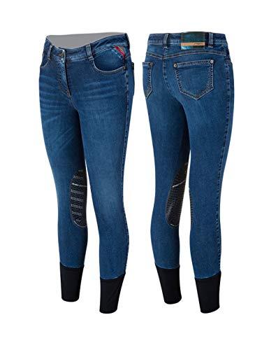 Animo Damen Reithose Jeansreithose Modell Neci W19 Neuheit (D40/I46)