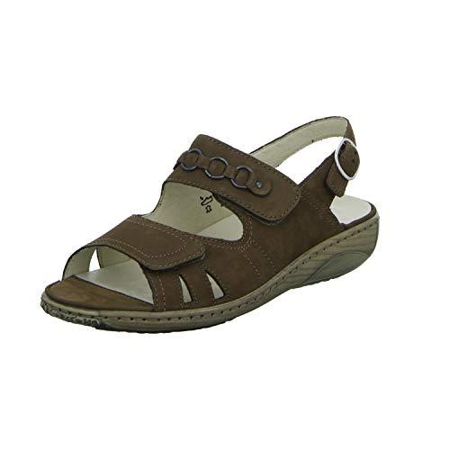 Waldläufer 210004 191 046 Garda - 210004 braun G-Weite Sandale Braun Gr. 3½